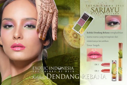 First Look Of Sariayu Exotic Indonesia The Colors Of Asia