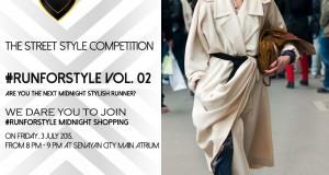 Ikut Run For Style di Senayan City Dapat Voucher Belanja Lebaran! Mau?
