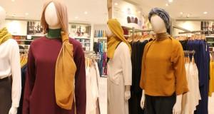 Rancangan Hana Tajima pada Koleksi Modest Wear Uniqlo