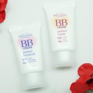 Skin aqua BB Cream Ringan dengan UV Protection square