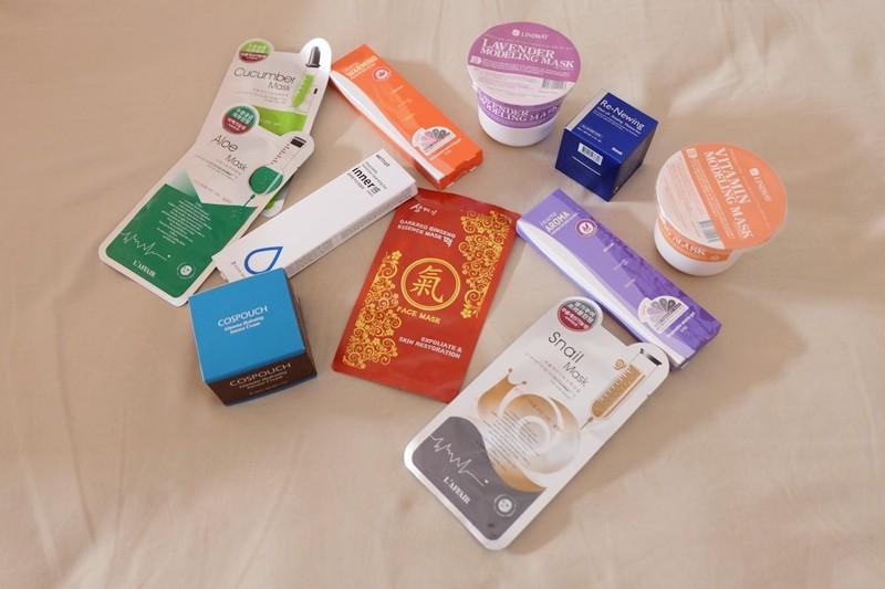 Beragam beauty product yang saya dan teman-teman temukan di area pameran