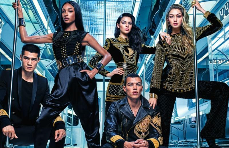 Balmain x H&M Campaign Image 2 res