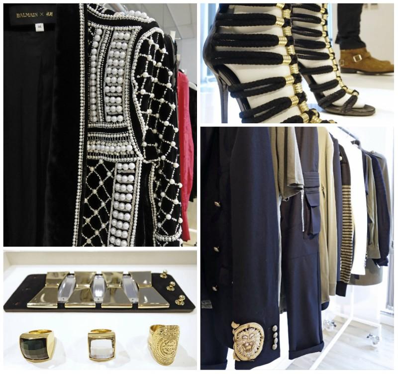 Statement blazer yang dipakai oleh Kendal Jenner saat peragaan koleksi ini  (kiri atas) harganya Rp 6 juta. Sedangkan sepatu sandal temali ini berharga  Rp 2 ... 9239edb59f