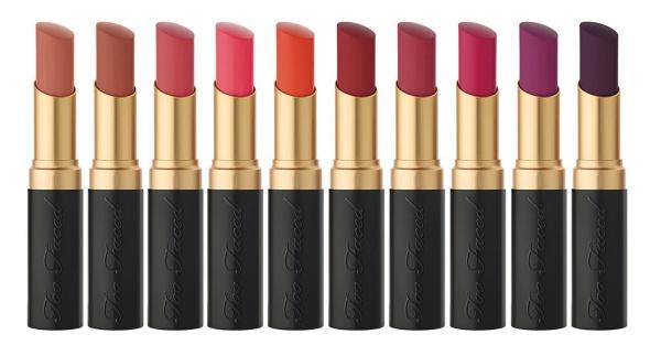 Masih Berburu Lipstick Matte? Nantikan Lipstick Terbaru Too Faced!