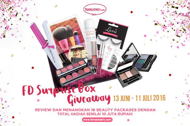 FD Studiomakeup Surprise Box Giveaway Review & Win 607x405