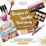 Menangkan Produk Makeup Jutaan Rupiah di Glimpse of Sparkle Giveaway!