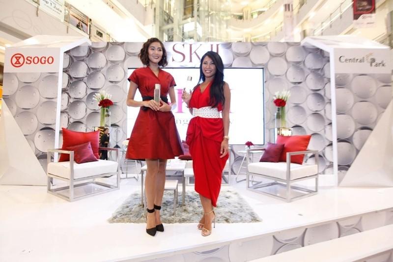 Anggun Brand Ambassador SK-II