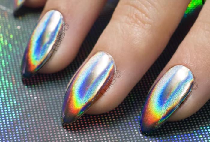 hologram nail