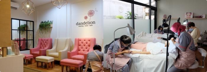 Dandelion Waxing -side