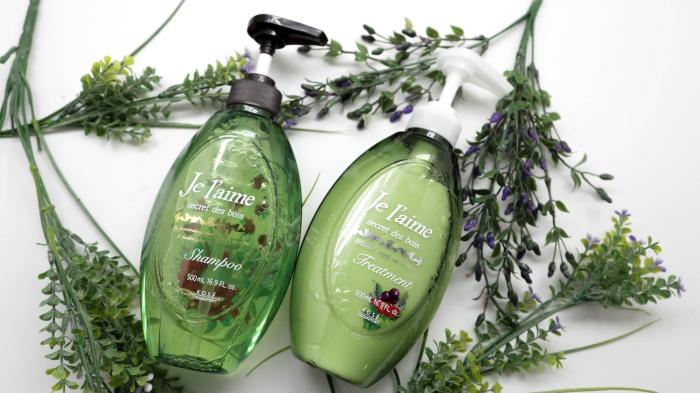 Green for Je L'aime Shiny Repair Shampoo-2