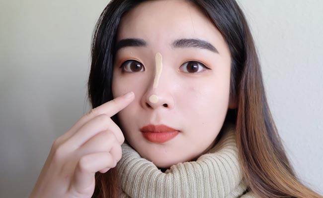 contour hidung 1