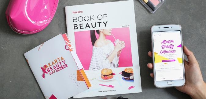 Tips Makeup Lengkap di Female Daily Book of Beauty