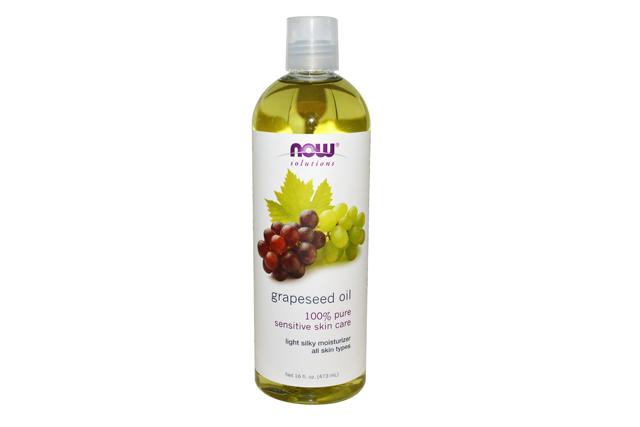 grapeseed oil now foods kulit berminyak berjerawat