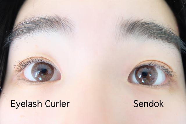 hasil eyelash curler vs sendok