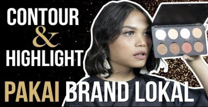 Contour & Highlight dari Brand Lokal
