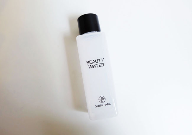 Son & Park Beauty Water Review 2