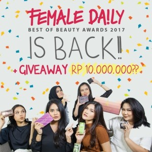 Female Daily Best of Beauty Awards 2017 + Giveaway Alert!-4