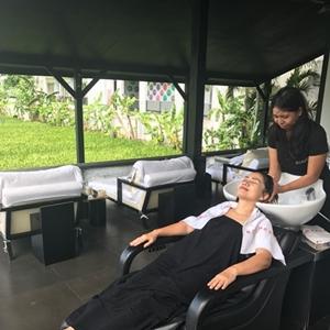 Rob Peetom Hair Spa Treatment Squared