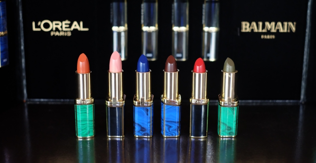Lipstick L'Oreal X Balmain Swatch-review-indonesia-female-daily-2