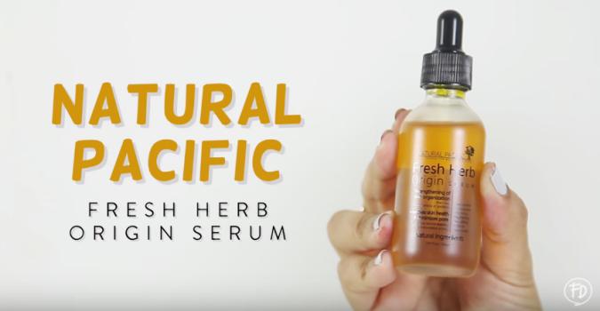 Natural Pacific Fresh Herb Origin Facial Cream Review