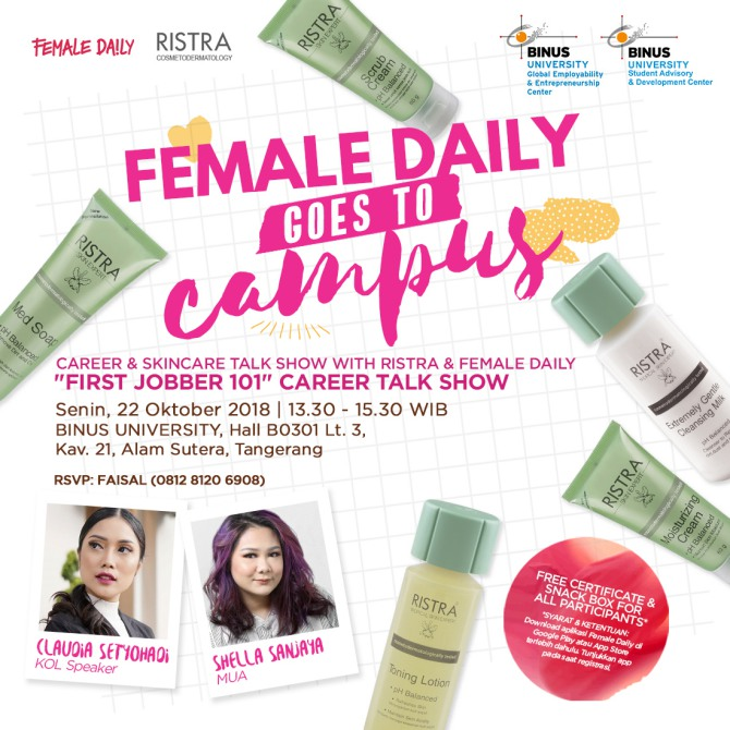 Career and Skincare Talk with Ristra Cosmetodermatology
