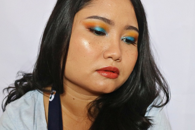 eyeshadow biru dan turqoa (4)