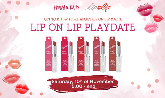 Coming Soon: Female Daily x Lip On Lip Playdate!
