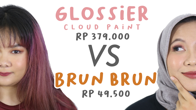 Steal or Splurge: Glossier Cloud Paint vs Brunbrun Lip Cheek Eye