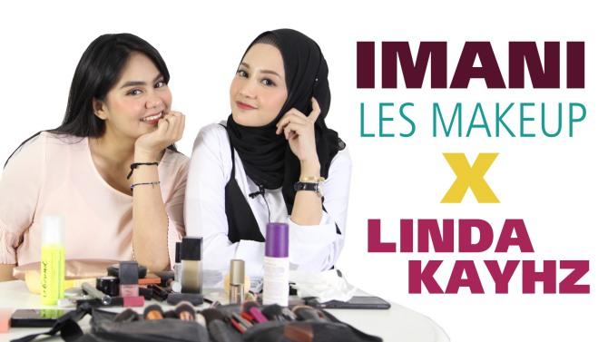 Imani Les Makeup Bareng Linda Kayhz