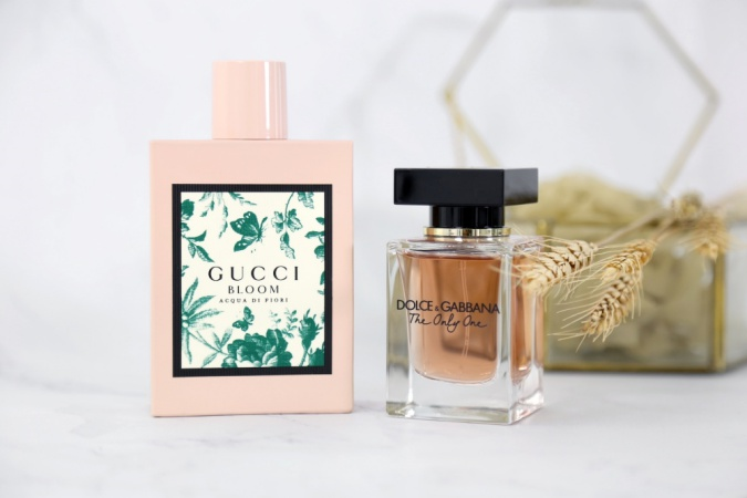 gucci bloom acqua di fiori and dolce gabbana the only one 2
